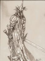 The witch king of angmar by StevenCrowe