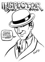 Inspector Spacetime by rori