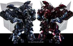 The Darkside - Ironhide by ArkaneApocolypse