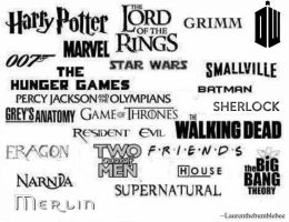 The many fandoms of ~Laurenthebumblebee. by Laurenthebumblebee