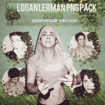 Logan Lerman PNG Pack by alwayssleep