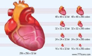 Heart Icon by medical-icon-set