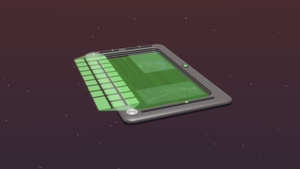 3D Holographic Data Pad by callumreality