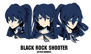 Black Rock Shooter AA by arsenixc
