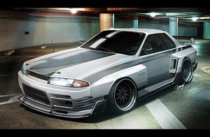 "Nissan Skyline R32 ""Grip King"" by AS001"