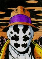Watchmen - Sketch card by mikegee777