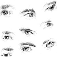 Eyes Practice - Expression by otohime0394