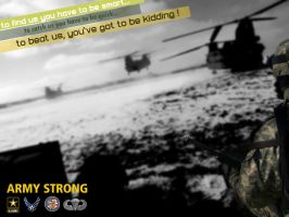 army strong poster by zokac1