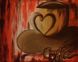 Coffee Cup by DemonRed6