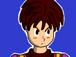 DQ9 Hero Drawing Take Two by DragonQuestWes