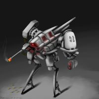 Mech doodle by Allord