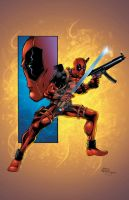Deadpool colors by seanforney