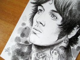 Oliver Sykes 2 by PoisonIky