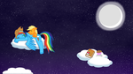 Good night, Dashie... =) [Wallpaper] by KonwhaldAndDrowette