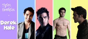 Teen Wolf Cast - Derek Hale by Weronika315