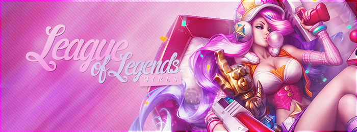 Arcade Miss Fortune banner for LoL Girls Fb group by MSorrowDesigns
