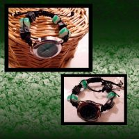 green and black watch by Rini-Dragoone