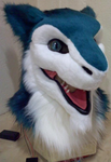 Shiney Sergal mask WIP by DreamVisionCreations