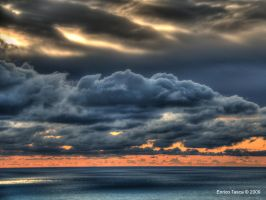 Cloudy weather by enricotasca
