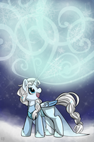 Let it Go - Elsa Pony by crab-pinches