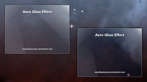 Aero Glass Effect -- .psd by easydisplayname