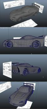 Dodge Viper wip1A by GerobakDoronk