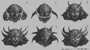 Demon Fast Concepts by TSRodriguez