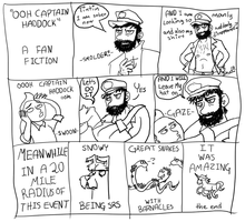 Ooh Captain Haddock a fanfiction by StupidLittleCreature