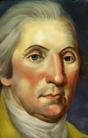 Washington (after Peale) by jamberry-song