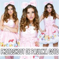 Photoshoot de Paulina Goto by naty02