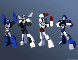 Autobot YMCA by KrisSmithDW