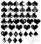 Moonsins Playing Cards Brushes by MoonsinProductions