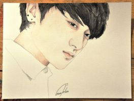 Tao, EXO (Art trade) by TheCorinna