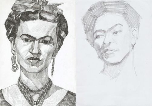 Frida Kahlo by megavoicer