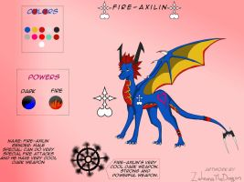 Fire-Axilin - Contest Entry by ZahninaTheDragon