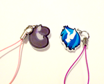 Vinyl Scratch and Octavia Cellphone Charm Set by Enuwey