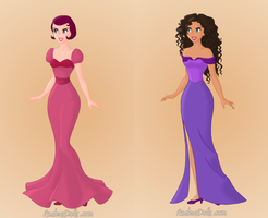 Totally SpiesEvil Princesses Dominique And Caitlin by TigerPrincessKaitlyn