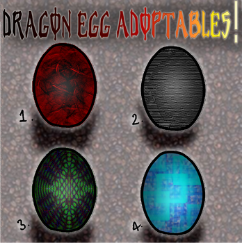 Dragon Eggs! CLOSED by Koolkatt32