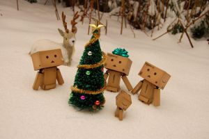 Holiday Danbo Celebration  2011 ...... by Yuffie1972