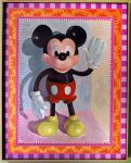Rubber Mickey Toy by EricTonArts