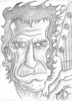 Keith Richards by yoeh