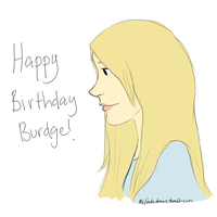 Happy Birthday Burdge! by blossoms256