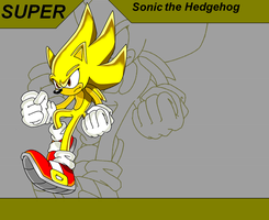 Super Sonic wallpaper by nothing111111