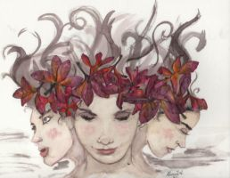 3 Flowers by PassionA