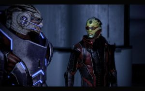 ME2 Justicar - Garrus and Thane 1 by chicksaw2002