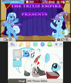 Custom 3Ds Theme Commissions by Discourt