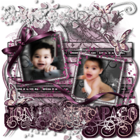 newest psp digital scrapbook pages by CaliMomma