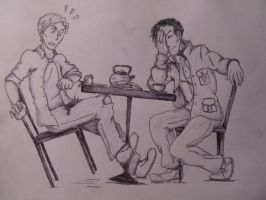 Tea With Martin Crieff by sung-me