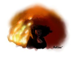 Storybrooke in Flames - The Evil Queen Arises by Anita-Garbo