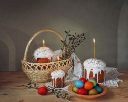 Easter still life by Daykiney